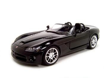 Buy 2003 Dodge Viper Srt-10 Black Diecast Model 1:18 Die Cast Car