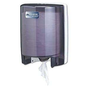 San Jamar SAN T400TBK Classic Center-Pull Towel Dispenser: Paper