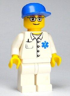 EMT Doctor Lego Minifigure - 1