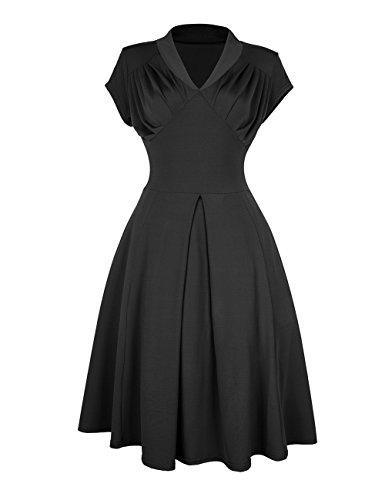 dragonpad-women-retro-vintage-cocktail-rockabilly-party-swing-dress-black-s