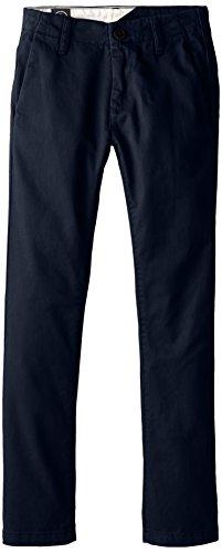 Volcom, Pantaloni chino Bambino, Blu (Vintage Navy), 10 anni