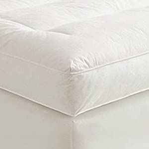 Cheapest Waterproof Cover And Contour Pillow Included With Cal-King 1.25 Inch Soft Sleeper 5.5 Visco Elastic Memory Foam...