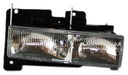 TYC 20-1668-00 Chevrolet/GMC Passenger Side Headlight Assembly (96 Gmc Yukon Headlight Assembly compare prices)