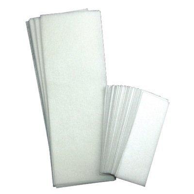 FantaSea Non Woven Facial and Body Wax 100 Strips, 50 small 50 large (Facial Hair Removal Wax Strips compare prices)