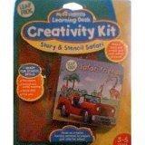 My First LeapPad Creativity Kit: Story & Stencil Safari