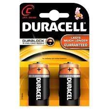TYPE DE DURACELL-PILE ALCALINE-DURALOCK C -LR14/MNI400