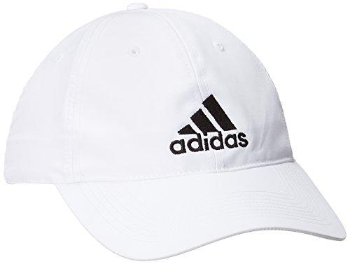 Adidas, Cappellino Donna Performance Logo, Bianco (White/Black), Taglia unica