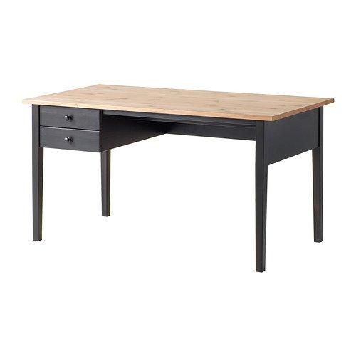 IKEA Arkelstorp - bureau, noir - 140x70 cm