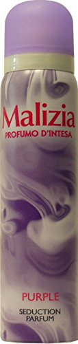 12 x MALIZIA Deo Donna Profumo D'Intesa Spray Purple 100 Ml
