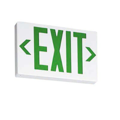 Exit Sign, 3.8W, Red, 2 Faces
