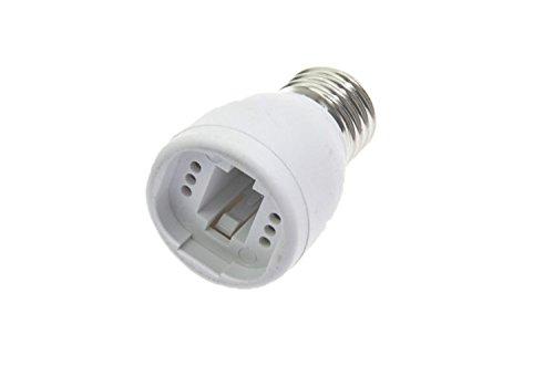 Shangge Ce&Rohs Certification 5 Pcs E27 To G24 A-Model Led Bulb Base Converter Halogen Cfl Light Lamp Adapter Socket Change Pbt