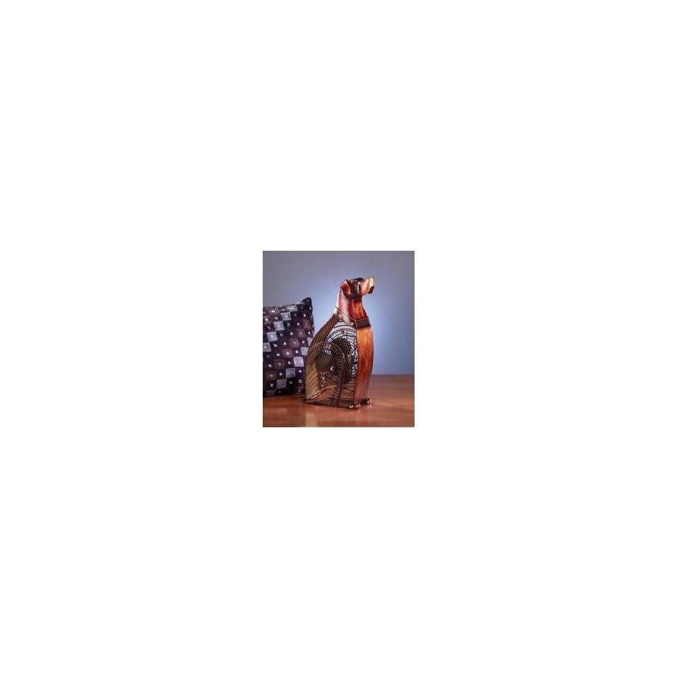 Figurine Fan   Dog  Deco Breeze   DBF0359