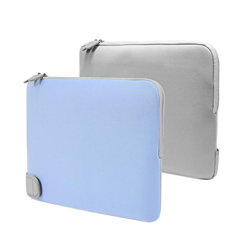Unik Case Light Blue Neoprene Zipper Laptop Sleeve Bag Case Cover for All 13