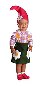 Flower Garden Gnome Costume - Infant/toddler Costume - Infant (12-18 Months)