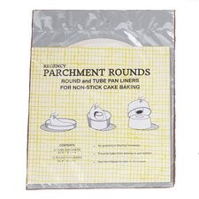 Regency Wraps Combo Pack Parchment Paper Circles, White (Paper Tube Pan compare prices)