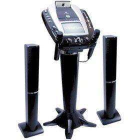 The Singing Machine STVG-1008 Pedestal CDG Karaoke System with Camera, 7