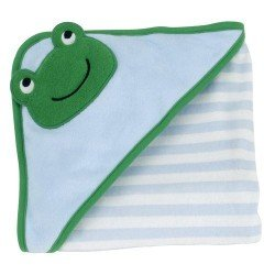 Froggy, Hooded Baby Bath Towel