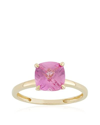 Diamante 2 Ct. Cushion-Cut Pink Sapphire Ring