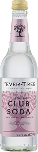 Fever-Tree Club Soda, 16.9-Ounce Glass Bottles (Pack of 8) (Fever Tree Spring Club Soda compare prices)
