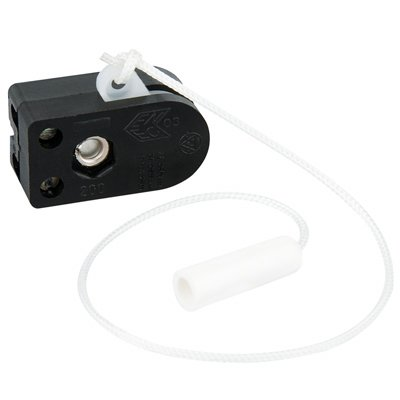 Limited Sale Jeani 2A Side Pull Switch c/w Pull Cord & Toggle - LOW PRICE UK
