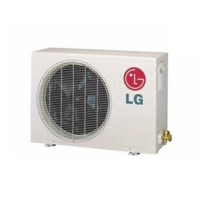 LG LSU240HSV Ductless Air Conditioning, 18.9 SEER Single-Zone Outdoor Condenser High-Efficiency Heat Pump Inverter - 22,000 BTU