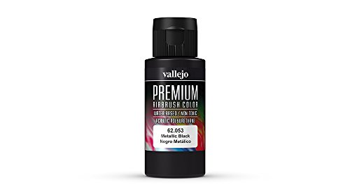 Vallejo Color Metallic Black Premium RC Colors - 1