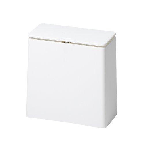ideaco フタ付ゴミ箱 TUBELOR mini flap ホワイト