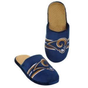 Cheap New – St Louis Rams Striped Slippers by Forever Collectibles – Medium (B006KYSKY8)