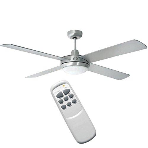 Ventilatore da soffitto 4 pale con telecomando DCG