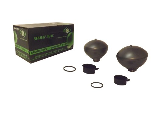 2x RCA FRANCE 5016 Suspension Spheres