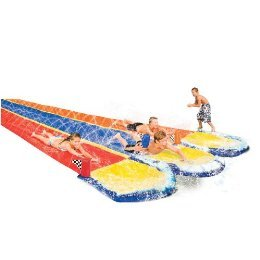 Banzai Triple Wave Racer Water Slide