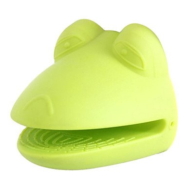 LWW Frog Shaped Silicon Insulated Glove (Green)
