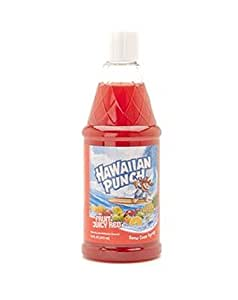 Hawaiian Punch Fruit Juicy Red Snow Cone Syrup 16oz
