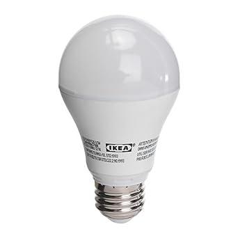 Ikea LEDARE LED bulb E26, 400 Lumen, 8.5 Watts, Opaque Bulb