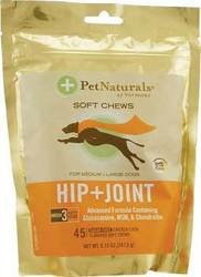 Pet Naturals Of Vermont Hip And Joint Advanced Formula Soft Chews - 45 Count