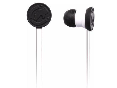 Mizco Eku-Stp-Wht Ecko Stomp Stereo Earbud Headphones With In-Line Microphone - White
