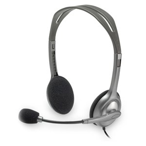 Logitech H110 Headset And Boom Mic