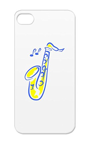 Tpu Studio Music Music Stage Reop Saxophone Microphone Jazz Recording Sound Engineering Navy For Iphone 5S Case Cover