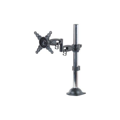 V7 Ds2Da-2N 2Point Telescopic Desk Mount 24In Hgt Adjust 90 Swivel Tilt Pan