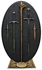 Arms of the Fellowship weapons plaque collection 1 sideshow weta lord of the rings       Customer reviews and more news