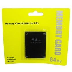 New 64MB 64 MB Memory Save Card For PlayStation 2 PS2 Console Game