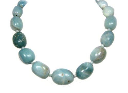 Carat Cache Amazonite Graduated Necklace 20