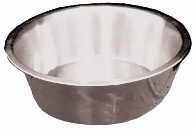 Lindys 48120 12 Quart Stainless Steel Flat Bottom Dish Pan (Metal Dish Pan compare prices)
