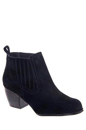 Western Low Heel Bootie
