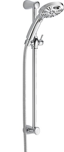 Delta Faucet 51406 Universal Showering Components, Temp2O Hand Shower With Wall Bar, Chrome