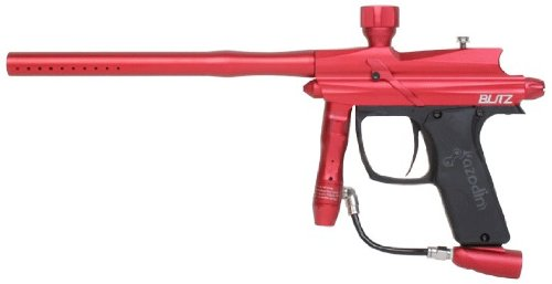 Azodin 2011 Blitz Electronic Paintball Marker - Red