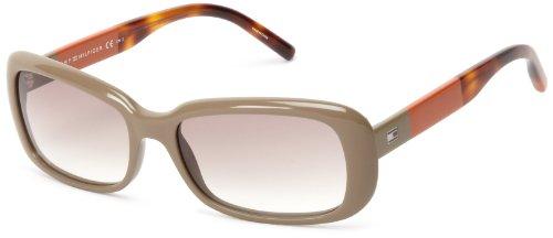 Tommy Hilfiger TH1158S Rectangular Sunglasses,Khaki,56 mm