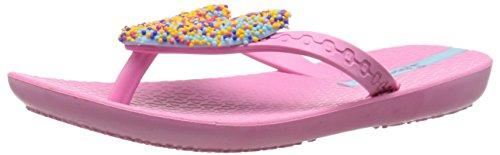 Ipanema Summer Love Kids Flip Flop (Toddler/Little Kid/Big Kid), Pink/Blue, 3 M Us Little Kid
