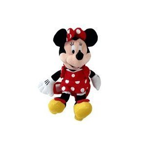 Amazon Com Disney Minnie Mouse Plush Backpack 14in