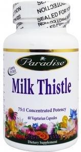 Paradise Herbs & Essentials - Milk Thistle, 250